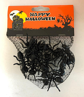Набор для Хэллоуина черные муравьи 12 шт (Halloween)