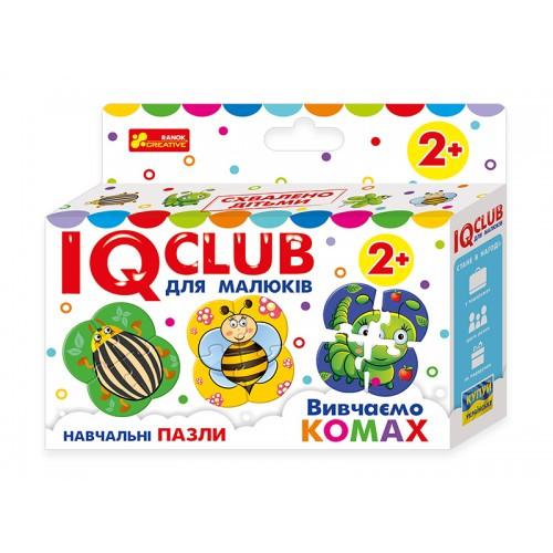 IQ  CLUB: Изучаем насекомых