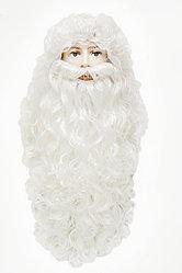 Парик+ борода Санты (Деда Мороза)