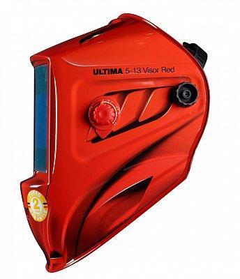 "Маска сварщика ""Хамелеон"", ULTIMA 5-13 Visor Red, зона обзора 100 мм х 67 мм., фото 2"