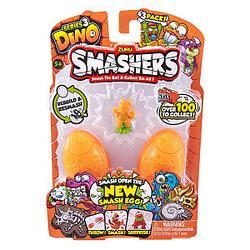 Zuru Smashers  Smashers Дино-сюрприз в яйце, 3 шт