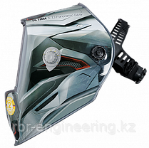 "FUBAG, маска сварщика, ""Хамелеон"" ULTIMA 5-13 Panoramic Silver, зона обзора 100 мм х 93 мм, фото 2"