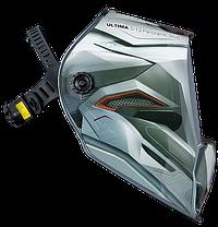 "FUBAG, маска сварщика, ""Хамелеон"" ULTIMA 5-13 Panoramic Silver, зона обзора 100 мм х 93 мм, фото 3"