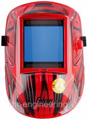 "FUBAG, маска сварщика ""Хамелеон"", ULTIMA 5-13 Panoramic Red, зона обзора 100 мм х 93 мм, фото 2"