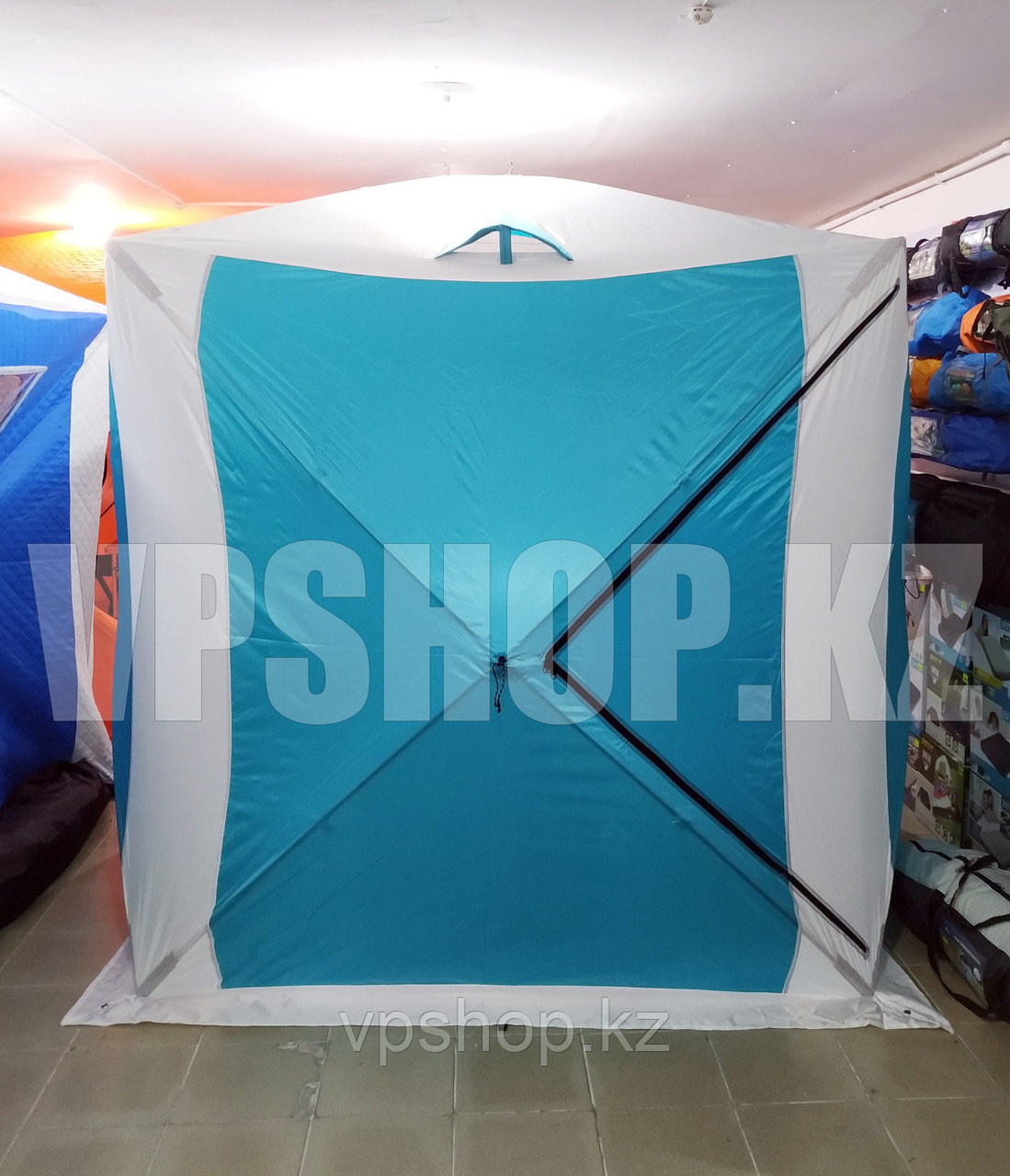Утепленная палатка для рыбалки КУБ 200х200х215 см доставка