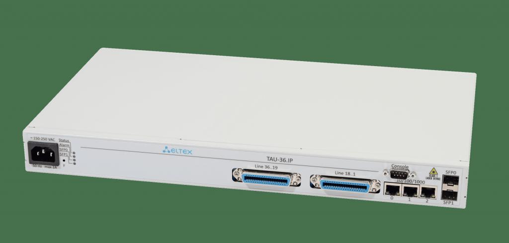 VoIP-шлюз TAU-36.IP: 36xFXS