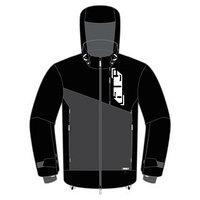 Куртка 509 Stoke без утеплителя, размер L, чёрный, серый