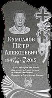"""Гранитный памятник Алатагыл """"с крестом и розой"""""""