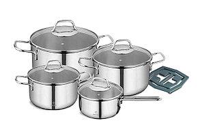 Набор посуды VINZER Techno 89022 (9 пр.)