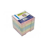 Блок для записей Silwefhof, цветной в подставке 9х9х9 см