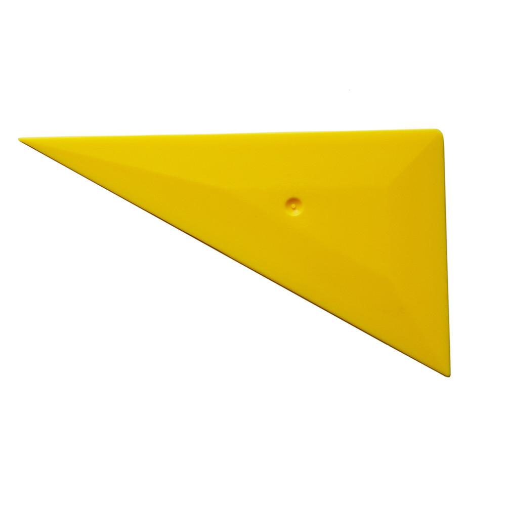 Ракель треугольный желтый