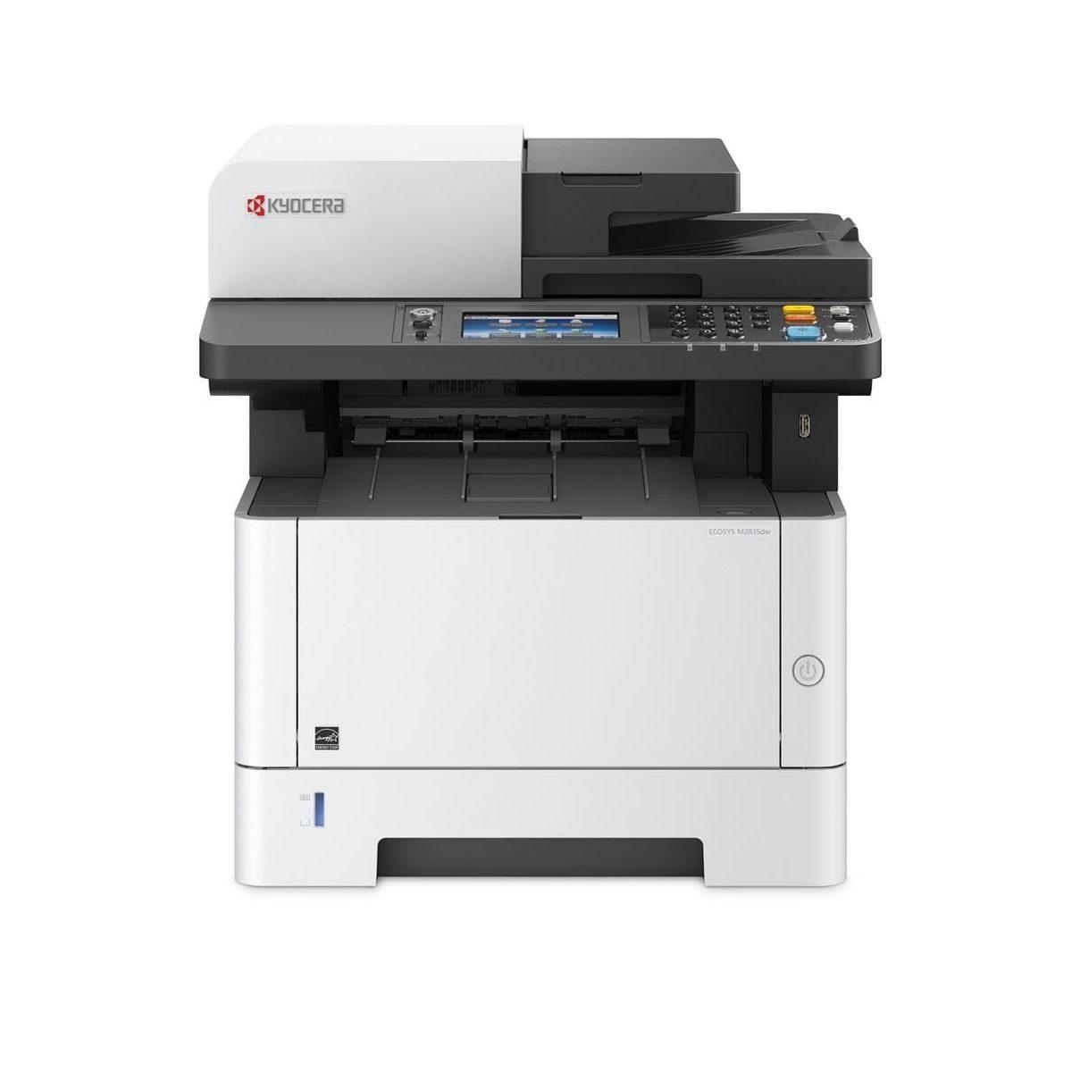 МФУ Принтер Kyocera M2835dw (А4, 35 ppm, 1200dpi, 512Mb, USB, Network, Wi-Fi, touch panel, автоподатчик, тонер