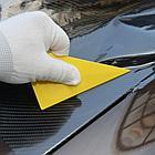 Ракель треугольный желтый, фото 2
