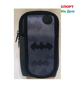 Сумка на руку для бега Бэтмен (цвет черный и серый)