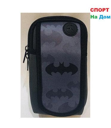 Сумка на руку для бега Бэтмен (цвет черный и серый), фото 2
