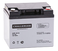 Аккумулятор Challenger A12-45 (12В, 45Ач), фото 1