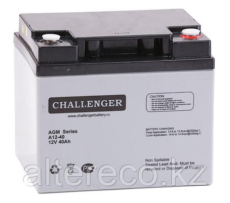 Аккумулятор Challenger A12-45 (12В, 45Ач), фото 2