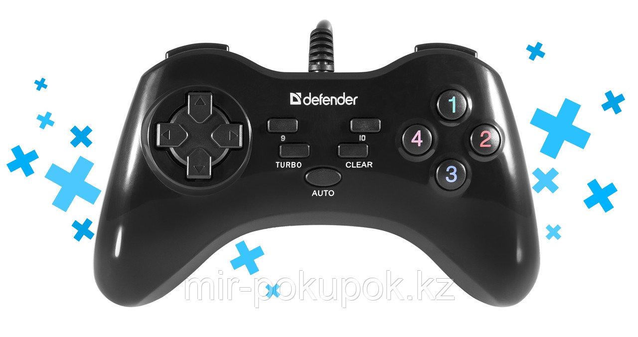 Распродажа! Проводной геймпад Defender Game Master G2 USB, 13 кнопок (игровой джостик)