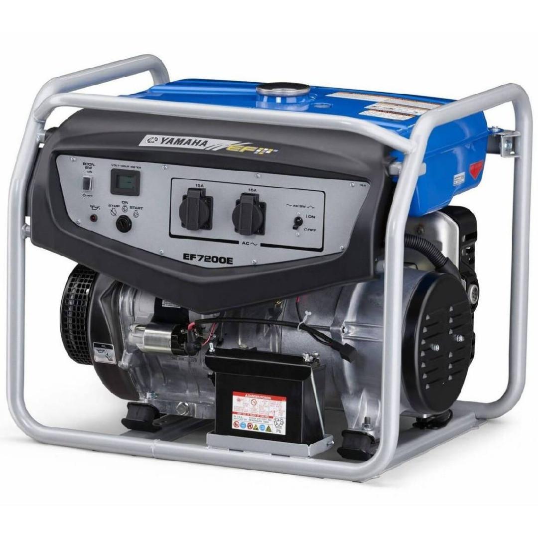 Генератор бензиновый YAMAHA EF 7200 E