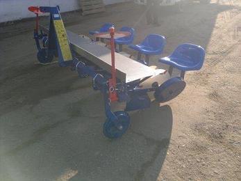 Рассадопосадочная машина Agro-Max 4х рядная, фото 2