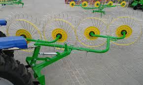 Грабли-ворошилки 4х колесные Ekiw, фото 2