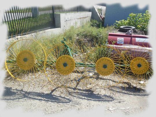 Грабли-ворошилки 4х колесные 2,4м Польша, фото 2