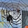 Большой  мохнатый черный паук (декорации для Хэллоуина, 70 см, фото 5