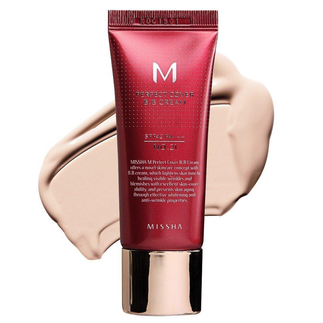 ВВ крем M Perfect Cover BB Cream (No.25 Natural Beige) 20ml