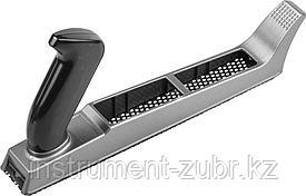 Рашпиль KRAFTOOL обдирочный, силуминовый с фиксированной ручкой, 250мм