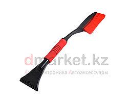 Щетка для уборки снега CN2230, удобная ручка, скребок, длина 60 см