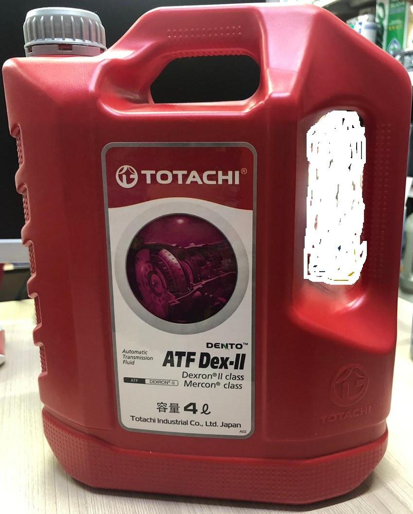 Трансмиссионное масло TOTACHI ATF II для гидромеханических (АКПП) 4L