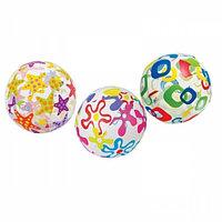 Надувной мяч диаметром 51 см Intex 59040 Lively Print Balls. Оптом. Алматы