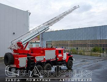 Пожарная автоцистерна с лестницей АЦЛ-4,0-40-24 (4320)