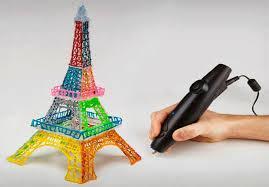 3D ручка и создание объемных моделей