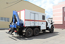 Автомобиль аварийно-спасательный на базе УРАЛ АСА-20
