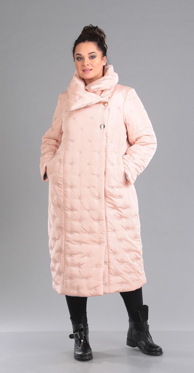 Пальто Foxy Fox-35, розовый, 48