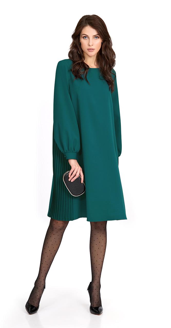 Платье PiRS-853, изумруд, 42