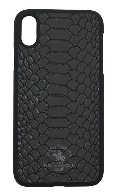 Чехол Santa Barbara Polo & Racquet Club Knight Black iPhone XS
