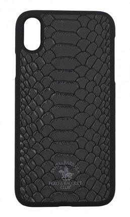 Чехол Santa Barbara Polo & Racquet Club Knight Black iPhone XS, фото 2