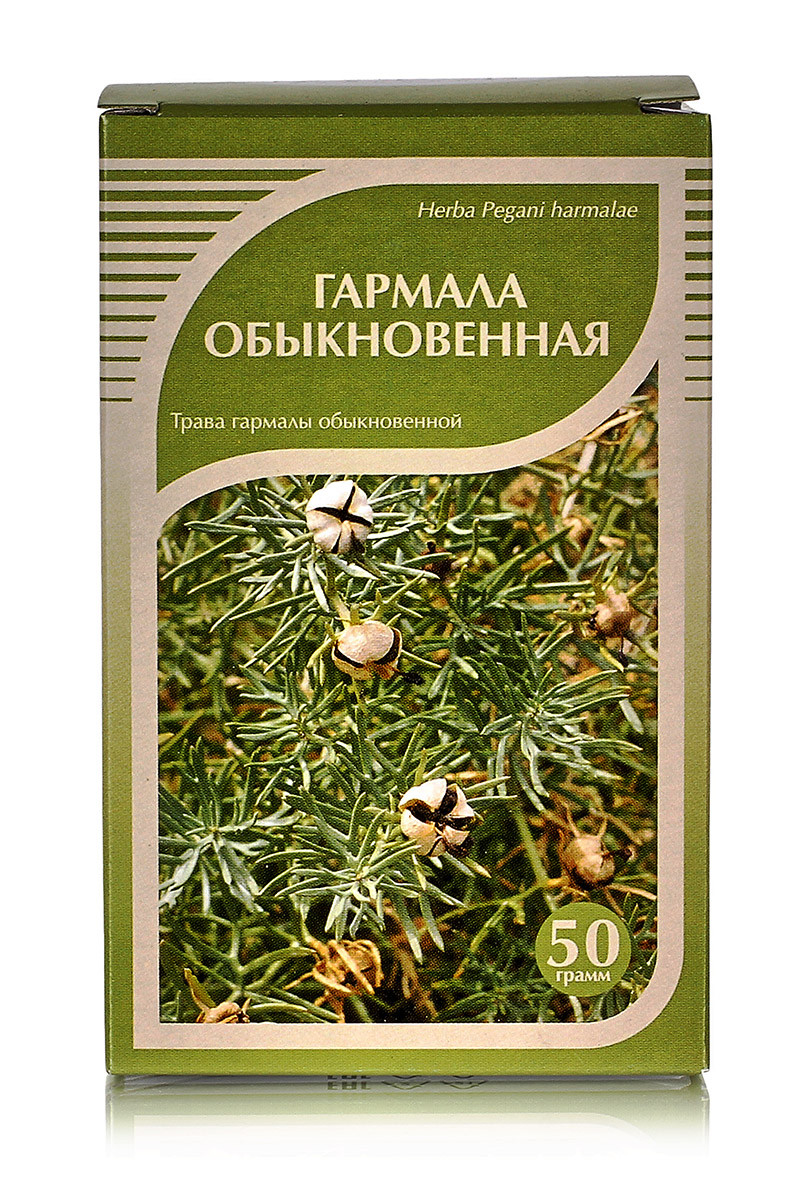 Гармала обыкновенная трава, 50гр