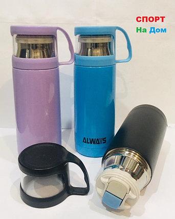 Термос для горячих напитков с кружкой Always 500 мл, фото 2