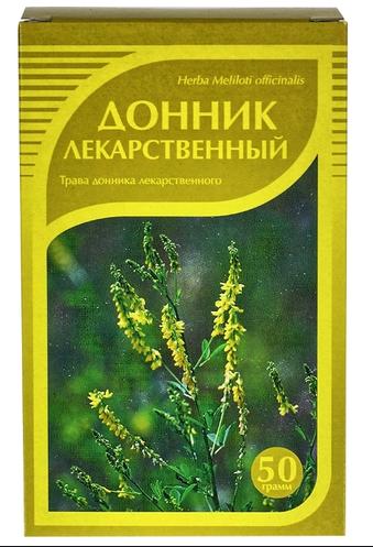 Донник лекарственный, трава, 50гр