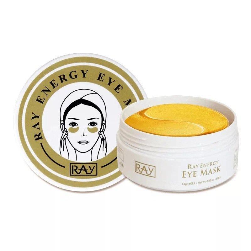 Гидрогелевые патчи с золотом Ray Energy Eye Mask 60шт
