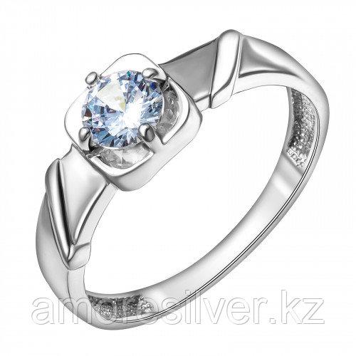 Кольцо из серебра с фианитом MASKOM размеры 17 - есть комплект  1000-0391