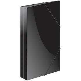 """Папка на резинке Berlingo """"Standard"""" А4, 600мкм, черная"""
