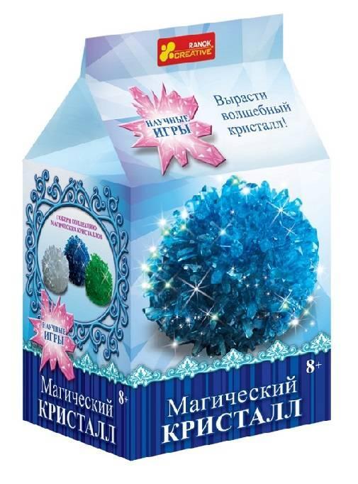 Научные игры: Волшебный синий кристалл