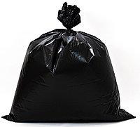Пакет  для мусора 180 литров ПВД 90х110, 100 мкм в пачках, фото 1