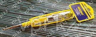 Отвертка-пробник электрический, 100-380В, 2-в-1,  RIDONG