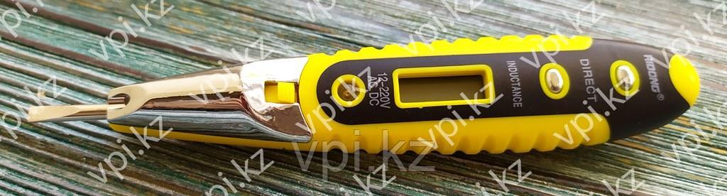 Отвертка-тестер электрический с фонариком, 12-220   RIDONG PROFI