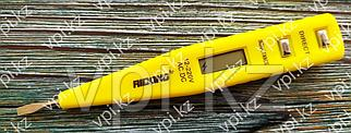 Отвертка-тестер электрический, 12-220   RIDONG